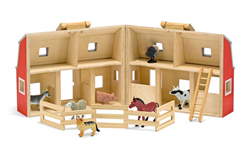 Fold & Go Barn Toy