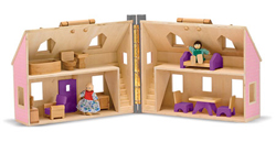 Fold & Go Dollhouse Toy