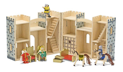 Fold & Go Castle Toy