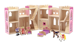 Fold & Go Princess Castle Princess Toy