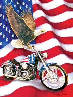 Symbols of Freedom Military Jigsaw Puzzle