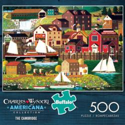 The Cambridge Seascape / Coastal Living Jigsaw Puzzle