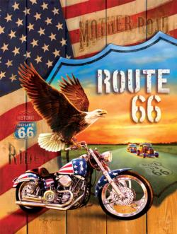 Mother Road Patriotic Jigsaw Puzzle