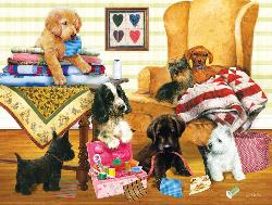 Who's Turn to Measure Quilting & Crafts Jigsaw Puzzle