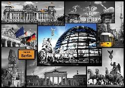 Berlin (Cities Collage) Collage Jigsaw Puzzle