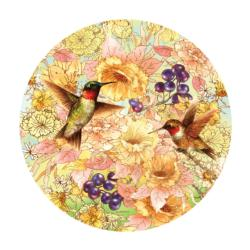 Hummingbirds and Berries Jigsaw Puzzle