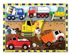 Construction Vehicles Jigsaw Puzzle