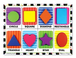 Shapes Educational Children's Puzzles