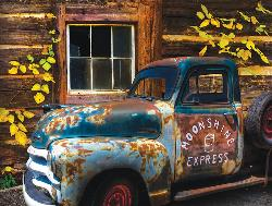 Moonshine Express Vehicles Jigsaw Puzzle