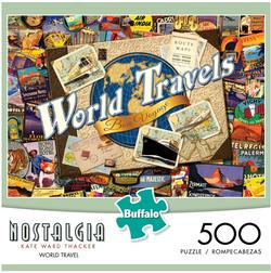 World Travels (Nostalgia) Maps Jigsaw Puzzle
