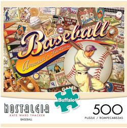 Baseball (Nostalgia) Baseball Jigsaw Puzzle