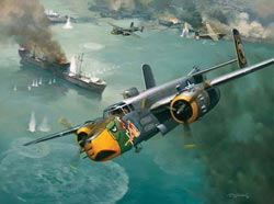 Raid on the China Coast Planes Jigsaw Puzzle