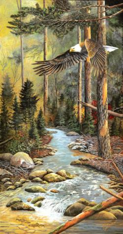 Wings of the North Lakes / Rivers / Streams Jigsaw Puzzle