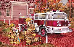My Dad My Hero Vehicles Jigsaw Puzzle