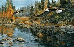 River Rendezvous Lakes / Rivers / Streams Jigsaw Puzzle