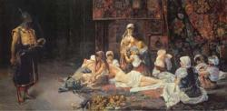 In the Harem People Jigsaw Puzzle