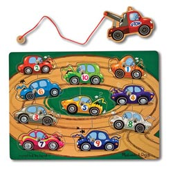 Tow Truck Cars Children's Puzzles
