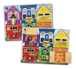 Latches Board Educational Toy