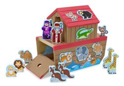 Noah's Ark Shape Sorter Religious Toy