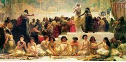 Babylonian Marriage Market History Jigsaw Puzzle