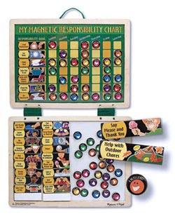 Magnetic Responsibility Chart Educational Magnetic
