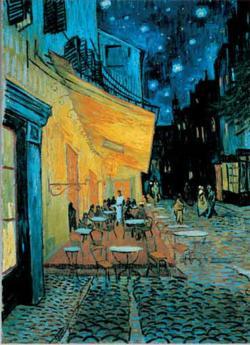 Cafè De Nuit Street Scene