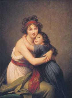 Autoritatto: Le Brun et sa Fille People