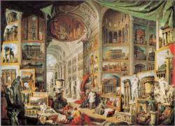 Galleria Con Vedute Di Roma Antica Landmarks