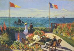 Garden at Sainte-Adresse Seascape / Coastal Living