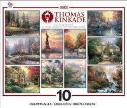 Thomas Kinkade Multi-Pack Lakes / Rivers / Streams Multi-Pack