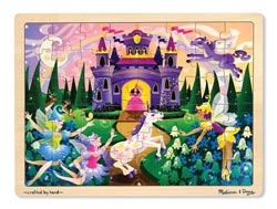 Fairy Fantasy Unicorns Tray Puzzle