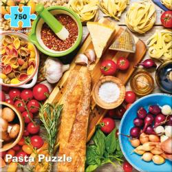 Pasta Pattern / Assortment Jigsaw Puzzle