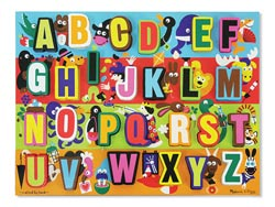 Jumbo ABC Language Arts Jigsaw Puzzle