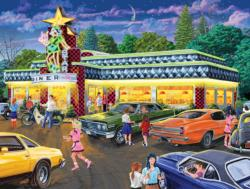 Star Diner - Scratch and Dent Nostalgic / Retro Jigsaw Puzzle