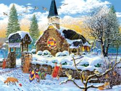 Children's Choir Churches Family Puzzle