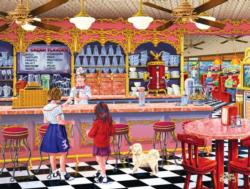 Ice Cream Parlor - Scratch and Dent Sweets Jigsaw Puzzle