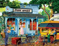 Postage Stamps and Butter Nostalgic / Retro Jigsaw Puzzle
