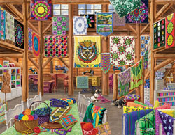 Quilted with Love General Store Large Piece
