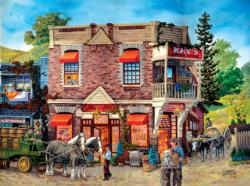 Kay's General Store General Store Jigsaw Puzzle