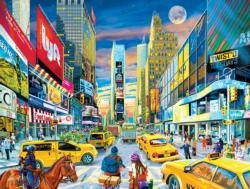 Times Square Intersection Skyline / Cityscape Jigsaw Puzzle