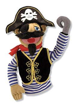 Pirate Puppet Pirates Toy