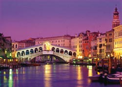 Rialto Bridge Venice Travel Jigsaw Puzzle