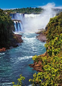 Iguazu Falls Waterfalls Jigsaw Puzzle