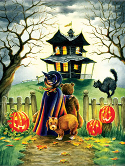 Maybe Not Halloween Jigsaw Puzzle