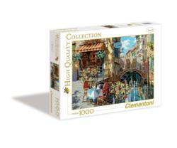 Ristorante Tartufo Street Scene Jigsaw Puzzle