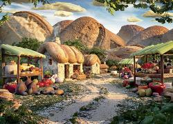 Bread Village (Food Landscapes) Landscape Jigsaw Puzzle