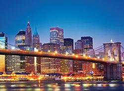 New York Brooklyn Bridge Cities Jigsaw Puzzle