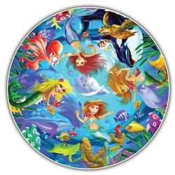 Mermaids (Round Table Puzzle) Mermaids Jigsaw Puzzle