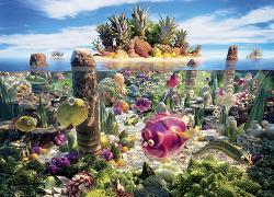 Coralscape (Food Landscapes) Landscape Jigsaw Puzzle