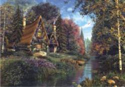 Fairytale Cottage Cottage/Cabin Jigsaw Puzzle
